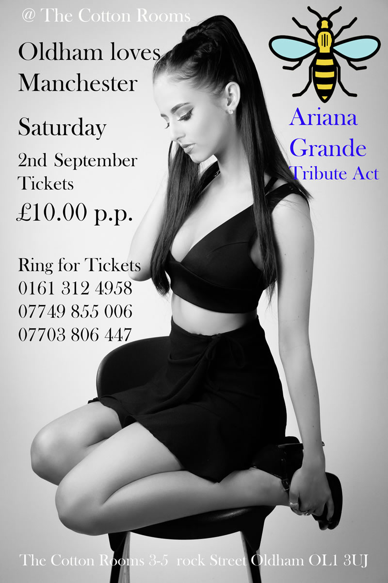 Ariana Grande Tribute Act at The Cotton Rooms